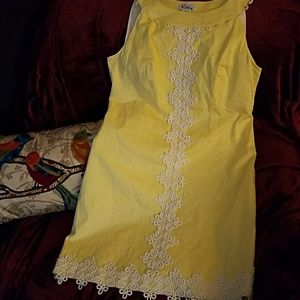 Vintage Lilly Jacqueline Yellow Dress